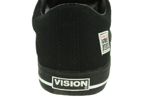 Vision Street Wear Schuhe Canvas Low Skate schwarz Canvas Schwarz - Lo