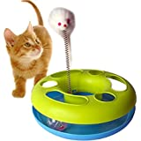 Pets Empire Catch The Mouse Motion Cat Toy, 9 X 9 Inch(Color May Vary)