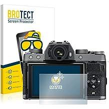 BROTECT Pellicola Protettiva Opaca Compatibile con FujiFilm X-T100 Protezione Schermo [2 Pezzi] - Anti-Riflesso, Anti-Graffio
