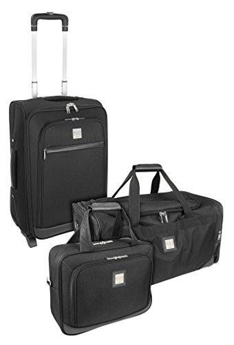 Mano Koffer-Set Schwarz 56.0 liters MPTSET2