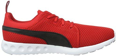 Puma Herren Carson Mesh Laufschuhe Rot (High Risk Red-Puma Black 06)