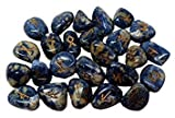 winmaarc Natural Gemstone runas de piedra pulido grabado símbolo 25pcs Set cristal Chakra Healling (morado)