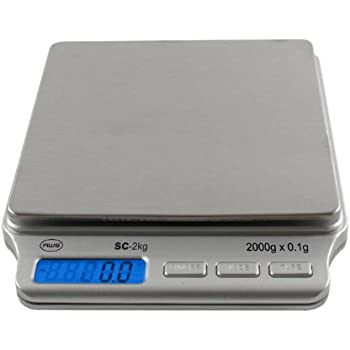 American weigh scales amw sc 2kg digital pocket scale for Kitchen pro smart scale