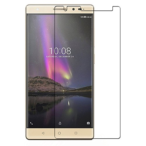 Colorcase Tempered Glass Screenguard for Lenovo Phab 2 Plus  available at amazon for Rs.169