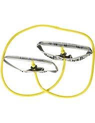 Thera-Band Bodytrainer Tubing mit Schaumstoffgriffen 1,40 m, leicht/gelb