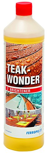 Ferropilot Teak-Wonder Aufheller Brightener Farbauffrischer Holz