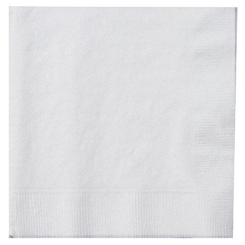 THALI Outlet-125x weiß 2-lagig 33cm 4Falz Papier Servietten Tissue Servietten für Geburtstage Hochzeiten Partys alle Anlässe -