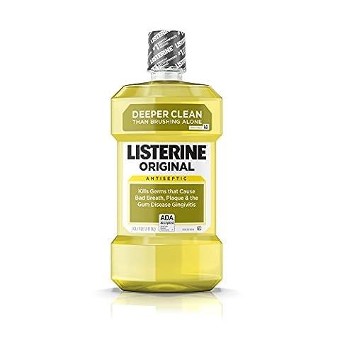 Listerine - Parfums Originale, Antiseptique, Bain De Bouche Adultes- 1