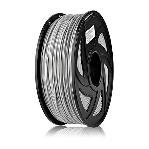 SIENOC 1Kg PETG 1,75mm 3D Printer Filamento Spool 3D Materiale di stampa per stampanti Nero