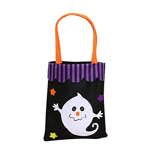chenke Kürbis Fledermaus Gespenster Trick oder Behandlung der Tasche Halloween Geschenk für Kinder ()