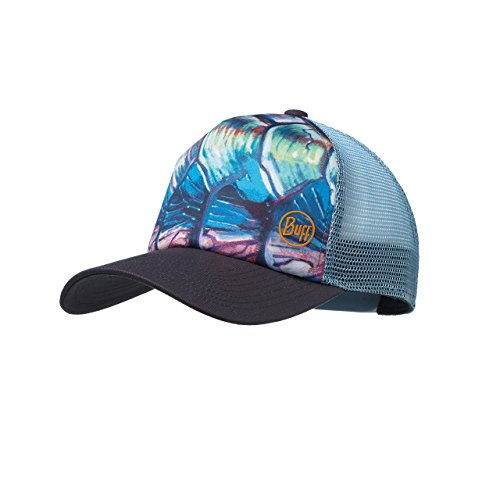 Buff Erwachsene Trucker Cap, De Young Tarpon Flank Late Multi, One Size