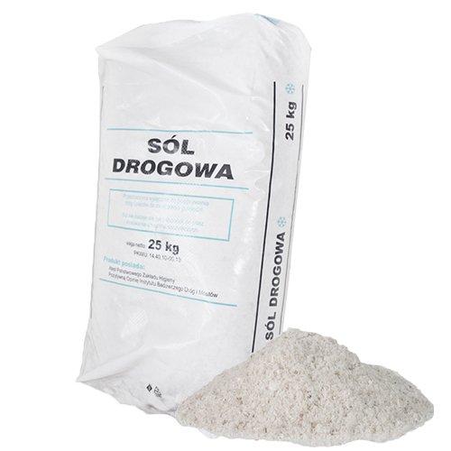 PALIGO Streusalz Auftausalz Straßensalz Tausalz Steinsalz Wintersalz Räumsalz Taumittel Granulat Salz 25kg Sack / 1 Karton