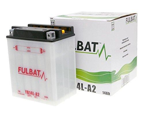 Batterie FULBAT YB14-A2 DRY inkl. Säurepack für ARTIC CAT Jag ZBaujahr 94[ inkl.7.50 EUR Batteriepfand ] -