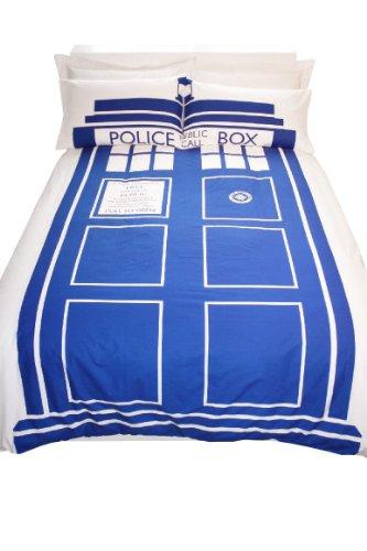 Doctor Who / Tardis - Completo letto a tema, misura: matrimoniale King Size