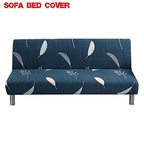 Sofá cama sin reposabrazos de estilo nórdico, funda de sofá cama de...