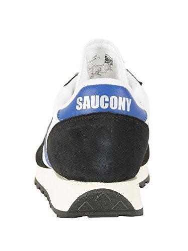 Saucony Jazz Original Vintage, Chaussures de Gymnastique Homme Blanc Cassé (Wht/blk 15)
