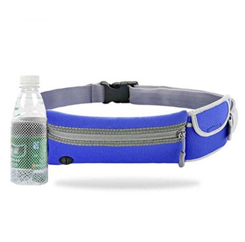 OOFWY Bum taschen Fanny Pack, Sport Taille Pack, Laufband, Outdoor Sport Taille Tasche, für Sport Männer und Frauen, geeignet für Reisen, Klettern E