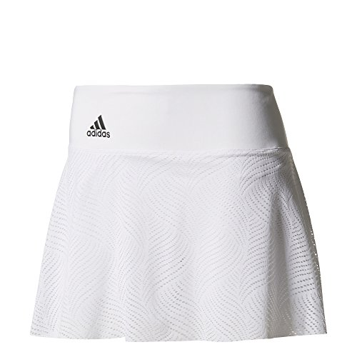 adidas Damen London Rock, White/Night Metallic, S (Damen Adidas Rock)
