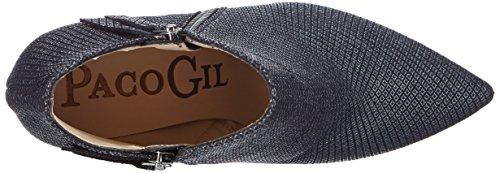 Paco Gil P2950, Bottes femme Gris - Grau (Argento)