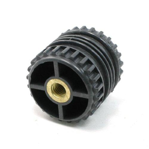 10 mm Bohrung, 50 mm, schwarz, verstärkte ISOLATOR GGD50 *Für Bus - 50