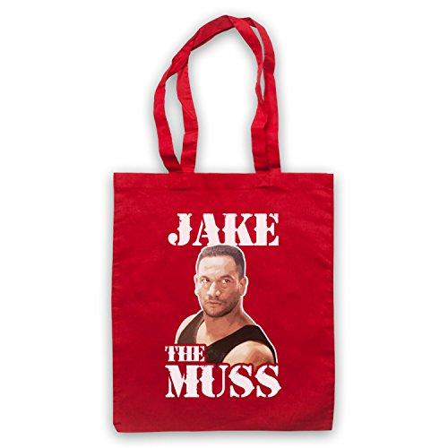 Inspiriert durch Once Were Warriors Jake The Muss Inoffiziell Umhangetaschen Rot