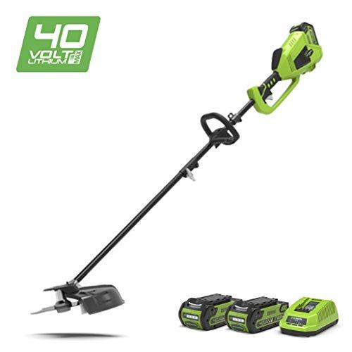 Greenworks 1301507UC Decespugliatore brushless a batteria 35cm 40V al Litio con 2...
