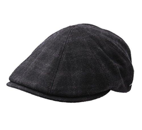 bailey-of-hollywood-cappellino-piatto-uomo-cove-size-m-gris