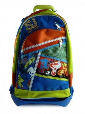 Seven Zaino Trolley Jack Junior Boy Scuola 2013-2014
