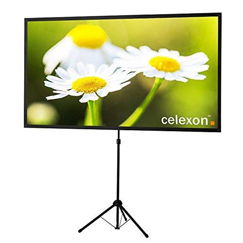 celexon Beamer Leinwand Stativ Ultra-lightweight 177x100cm