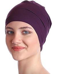 Unisex Kappe Aus Baumwolle für Krebs, Haarverlust - Schlafmütze