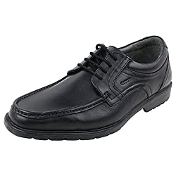 Woods Black Formal Leather Shoes For Men (Size : 43 Euro)