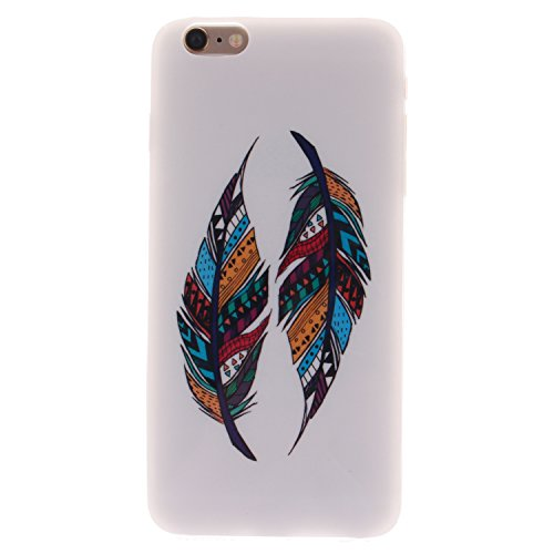 "MOONCASE iPhone 6 Case Coque Housse Silicone Etui Case Soft Gel TPU Cover pour iPhone 6 (4.7"") -TX13 ST06"