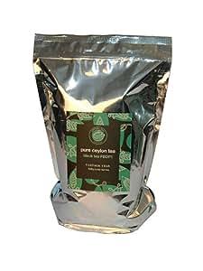 Vintage Teas Schwarzer Tee FBOP1, lose in Alu Säckchen, 1000 g, 1er Pack (1 x 1 kg)