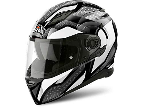 Airoh Helm Movement S Steel White Gloss Xl