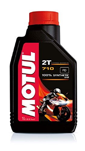TOP RACING Olio Miscela MOTUL 710 2T 100% Sintetico Synthetic Ester 1 LITRO