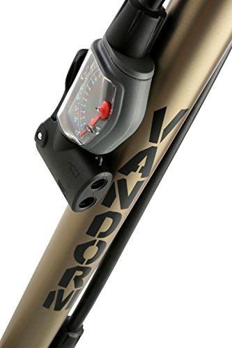 Vandorm Super Lite Alloy Bicycle Lightweight Presta Schrader Universal Bike Tyre Inner Tube Track Pump