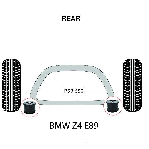 PSB Bush Z4 E89 3 Series (09-17) Kit de bagues arrière pour sous-cadre arrière PSB652