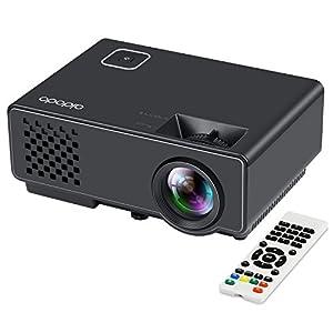 Vidéoprojecteur Aidodo Mini Projecteur LED LCD Projecteur HD 1080P 1800 Lumens Domestique Cinéma et Théâtre Jeux Vidéo Backyard Pour USB / HDMI / TV / AV Gaming Multimédia Vidéoprojecteur pour TV / Xbox / PC