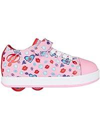 Heelys-Zapatos de Spiffy Pink Diamond Print-doble con ruedas modelo