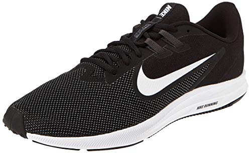 Nike Herren Downshifter 9 Laufschuhe, Schwarz (Black/White-Anthracite-Cool Grey 002), 46 EU