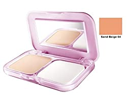 Maybelline Clear Glow All in One Fairness Compact Powder 9gm with Ayur Product in Combo (04-Sand Beige)