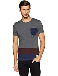 United Colors of Benetton Men's Striped Regular Fit T-Shirt