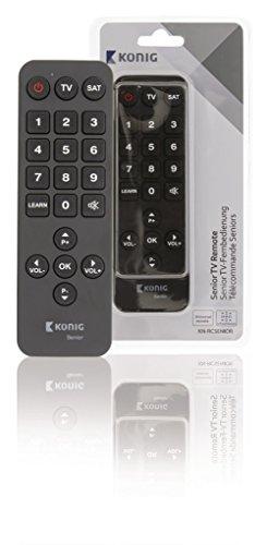 KÖNIG Preprogrammed Remote Control 2 Universal [KN-RCSENIOR] -