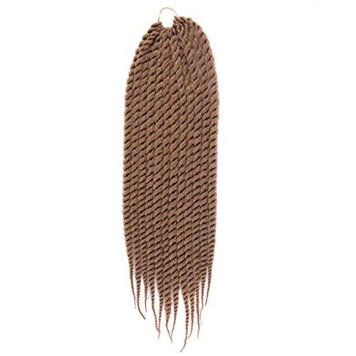Amfirst Damen Perücke lockige Frauen Lang Haar Wig für Karneval oder Cosplay Party Mode hübsche Frau Mädchen Farbverlauf Twist Crochet Braids Extensions Perücken