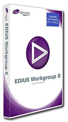 Preisvergleich Produktbild Grass Valley EDIUS Workgroup 8 Upgrade von Pro 8