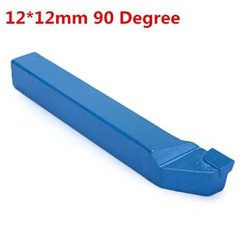 EsportsMJJ 12 * 12mm Yt5 Hartmetall Gepolstertes Äußeres Drehwerkzeug 90 Grad Drehmaschine Schneidwerkzeug