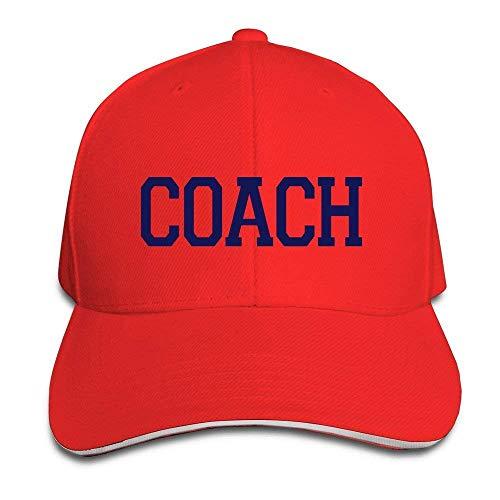 Suxinh Blue Letters Coach,WEINFUN Fashion Bone,Snapback Baseball Hats (Hat Coach)