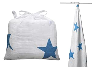 Maxi Lange Brilliant Blue Stars - aden + anais