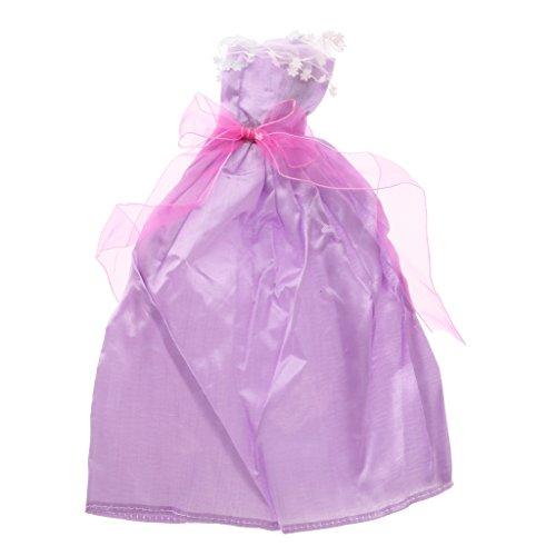 MagiDeal 5 Pezzi Abiti Vestiti +10 Paia Scarpe per Barbie Accessori e Abbigliamento per Bambole