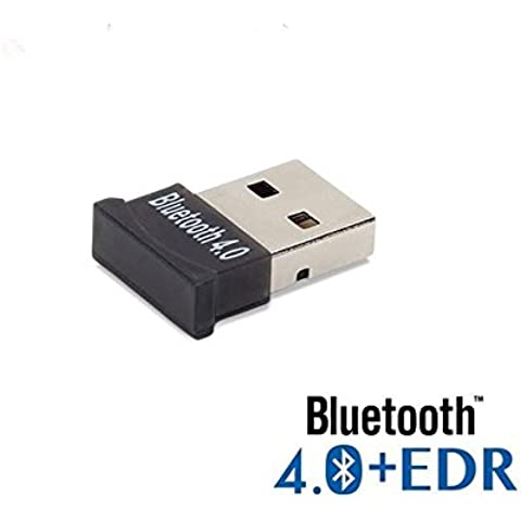 new-silk Road Adattatore Bluetooth Dongle, Ultra-mini usb Broadcom bcm20702classe 2Bluetooth V4.0+ EDR Dual Mode Wireless Dongle adattatore con LED